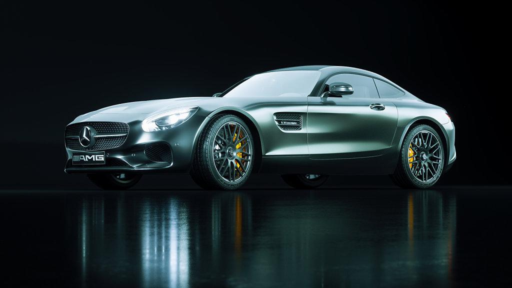 01 / Mercedes AMG GT Studio